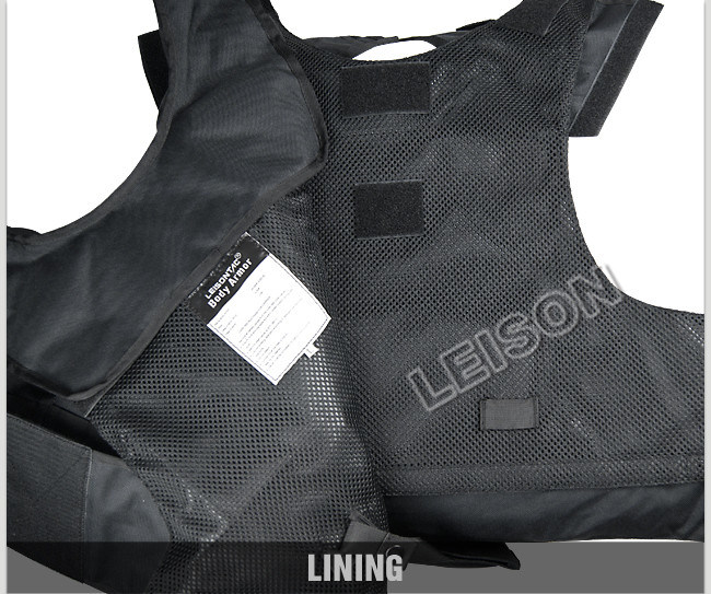 Bulletproof Vest with Nylon Thread Nij and ISO Standard
