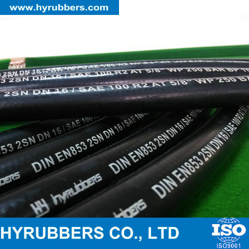 Smooth Surface Hydraulic Hose, High Pressure Hose, Rubber Hydraulic Hose