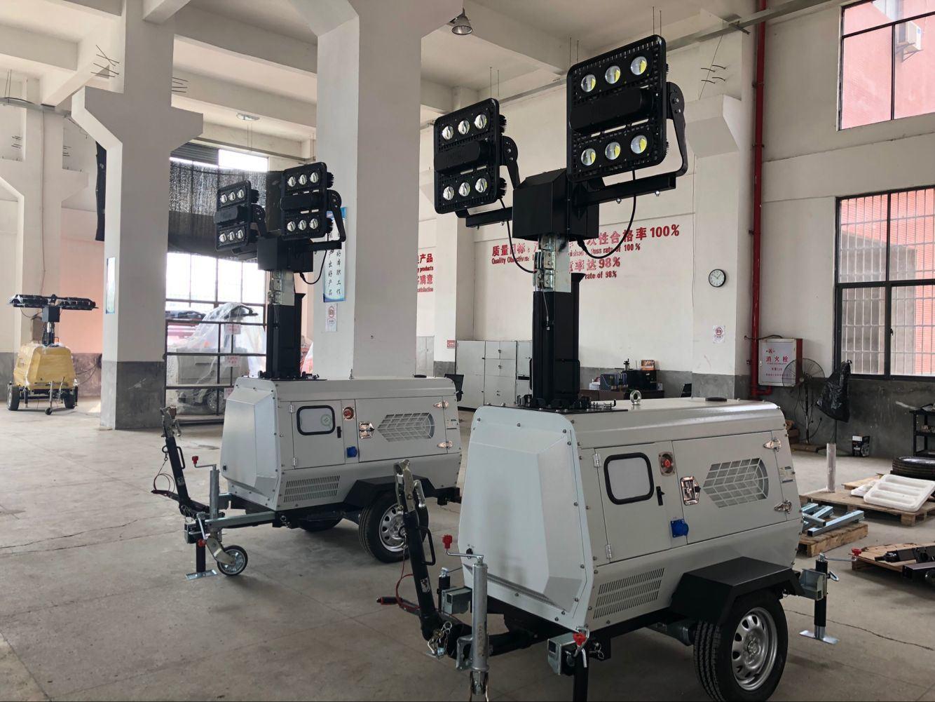 China 2 480w Led Hydraulic Vertical