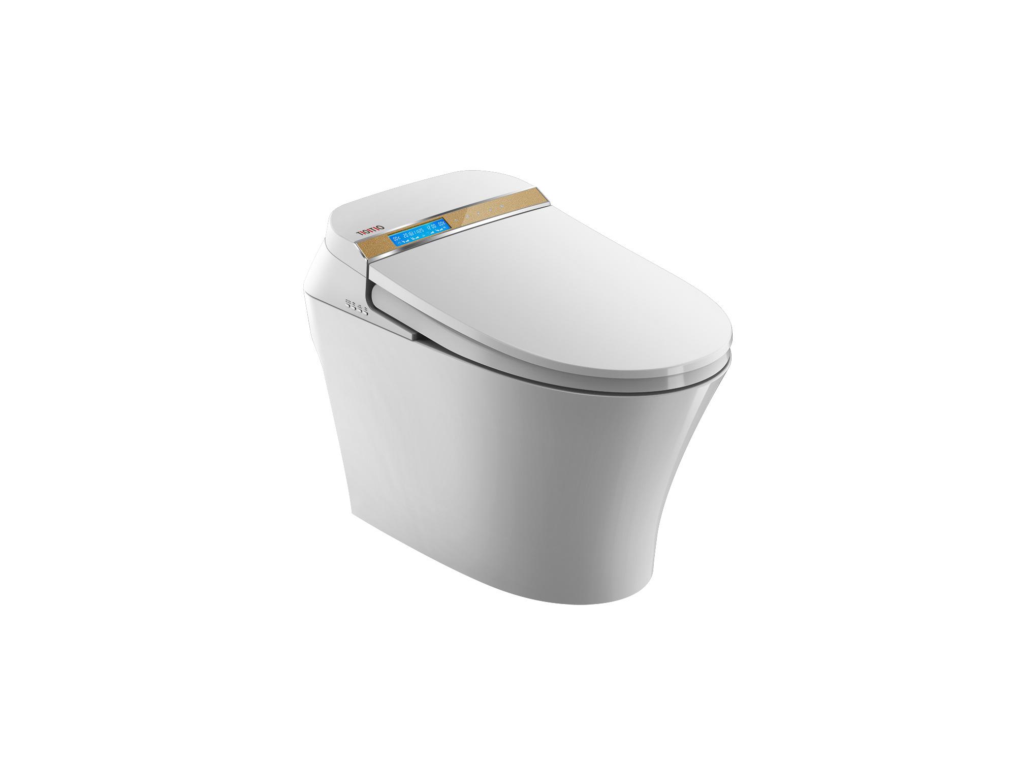 China Intelligent Automatic Smart Toilet Water Closet/Female Toilet ...