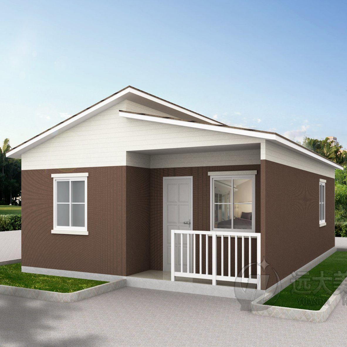 China New Design Steel Structure Affordable House Alc Panel Cheap Modular Homes Prefab Houses For Sale China Steel Structure Steel Structure Warehouse