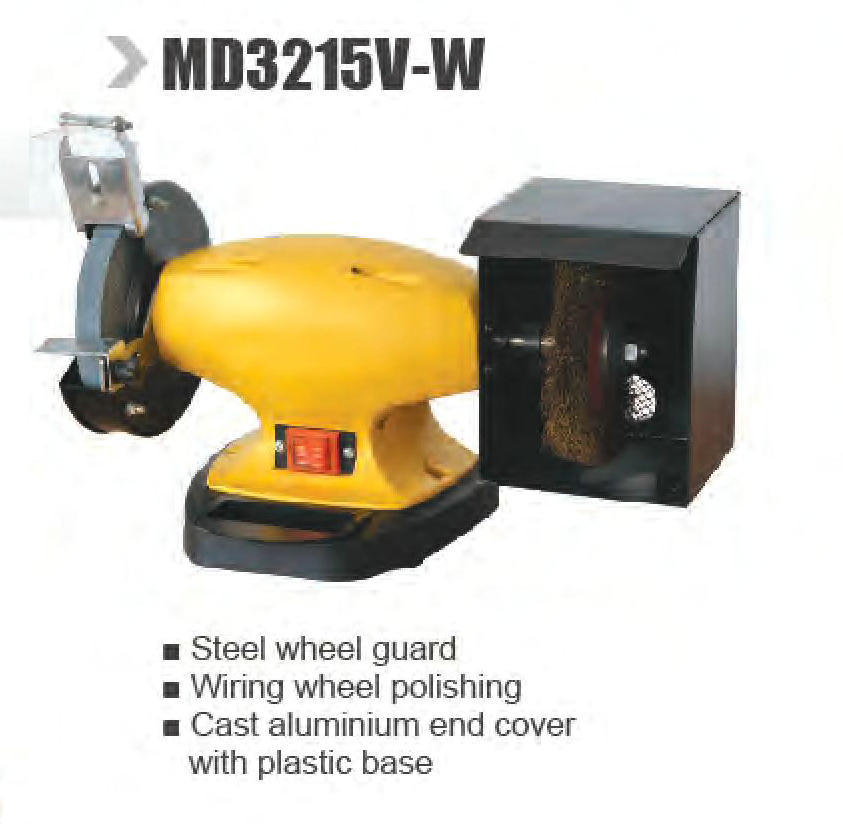 Fine China Single Phase Ac Electric Bench Grinder Md3215V W Ncnpc Chair Design For Home Ncnpcorg