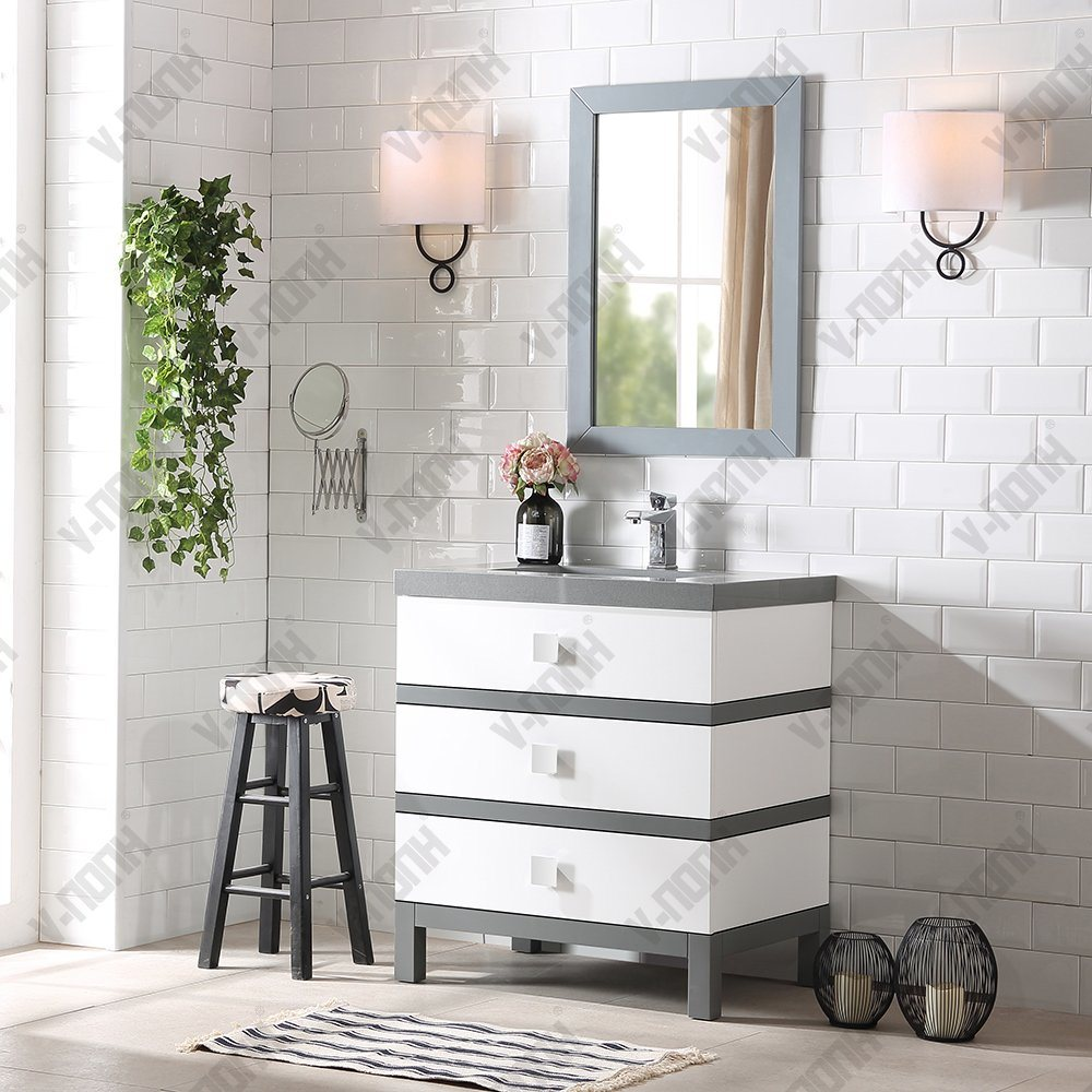China High Quality Bathroom Vanity And Linen Cabinet Sets Photos Pictures Made In China Com