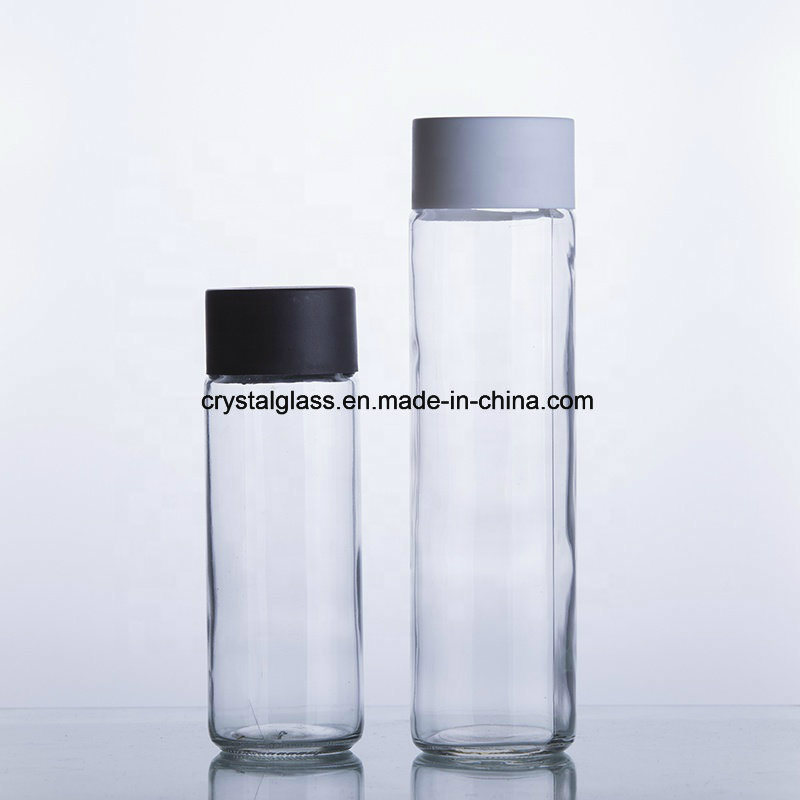 352be83b62 China 250/375/500/800ml Voss Cyliner Round Mineral Water Glass Bottle -  China Glass Bottle, Beverage Bottle