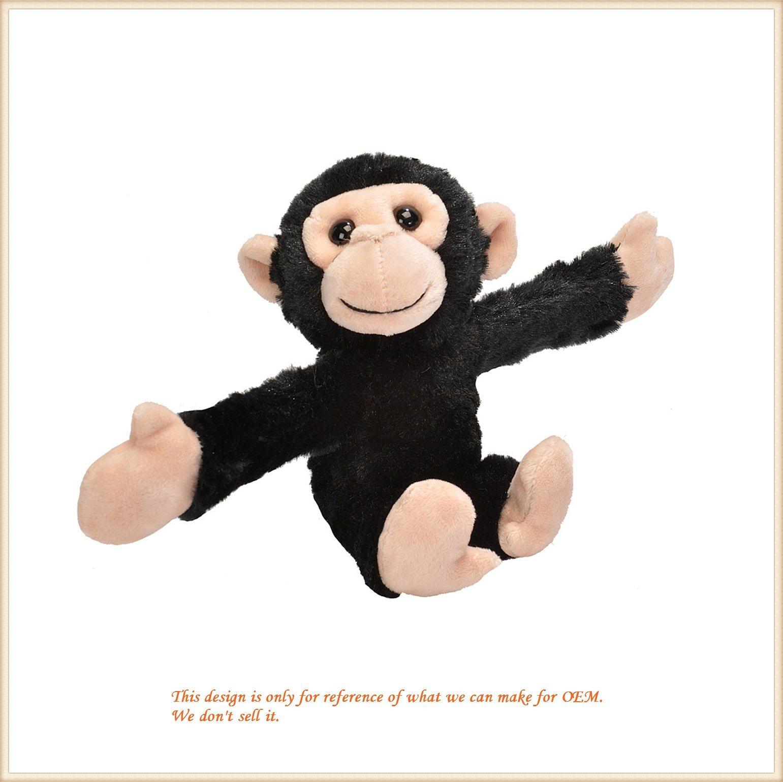 Best Stuffed Animals For Boy, China Hugging Chimp Wrap Snap Plush Bracelet Plush Soft Toys China Plush Monkey And Monkey Toys Price