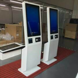 China Fast Food Restaurant Design with Self Ordering Kiosk