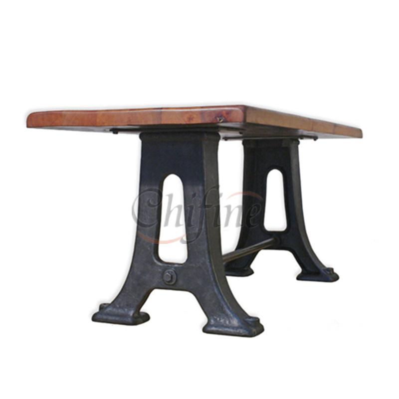 China Oem Cast Iron Bench Legs Garden Wooden Furniture Leg