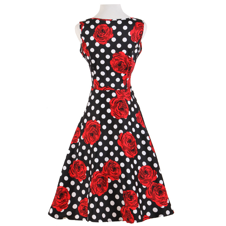 Wholesale Supplier Rockabilly Pinup Clothing Swing Dance Retro Vintage Dresses