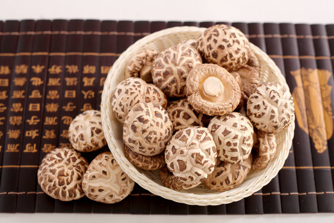 White Flower Mushroom Dried Vegetable