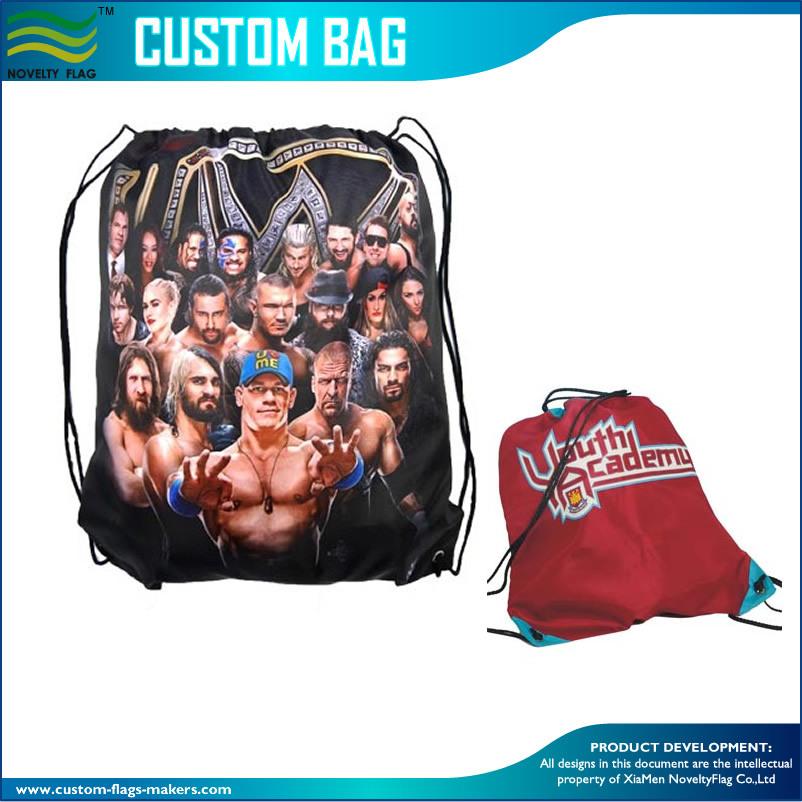 [Hot Item] Waterproof Drawstring Sports Outdoor Travel Gym Rucksack Bag  (M-NF29F14030)