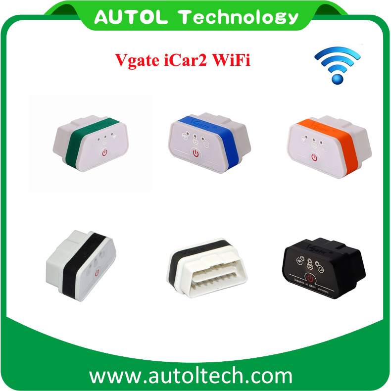 2017 Latest Version Vgate Icar2 OBD2 Connector WiFi Icar