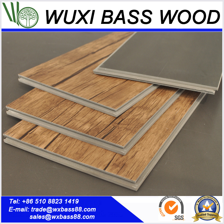 5 7mm Thick Uv Coating Wood Grain Wpc Vinyl Indoor Flooring