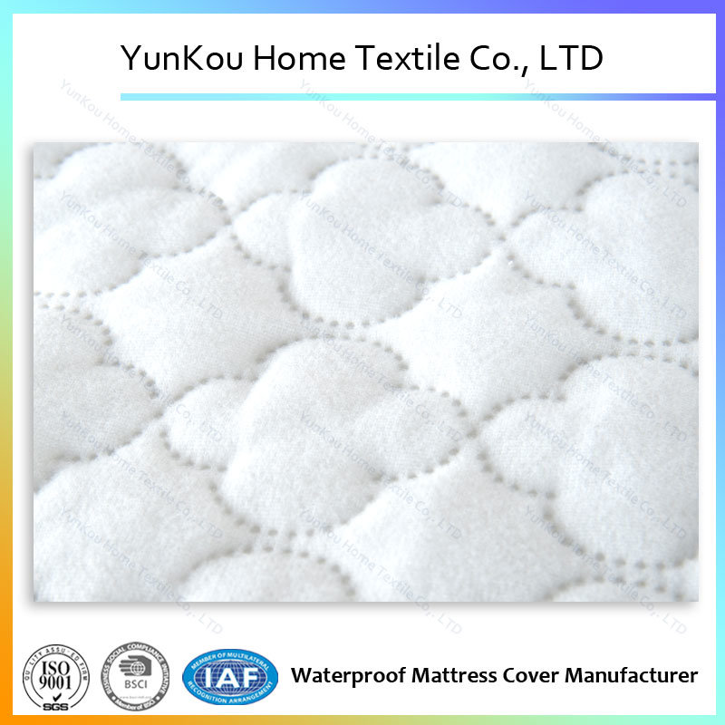 Waterproof Ultrasonic Quilted Underpad Laminated Polyester Fiber Batting