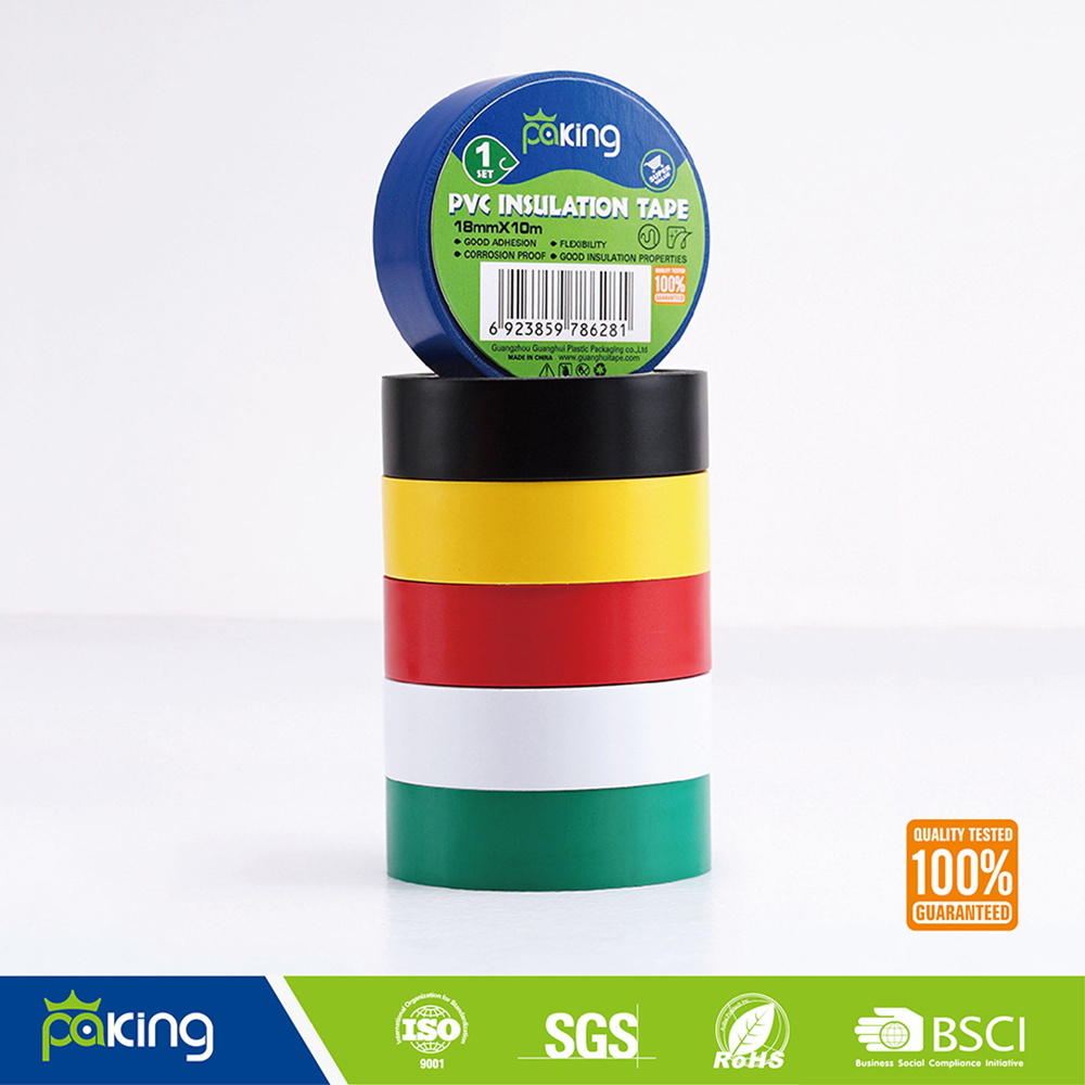 China Europe Market Red Color Hot Melt PVC Insulation Tape - China ...