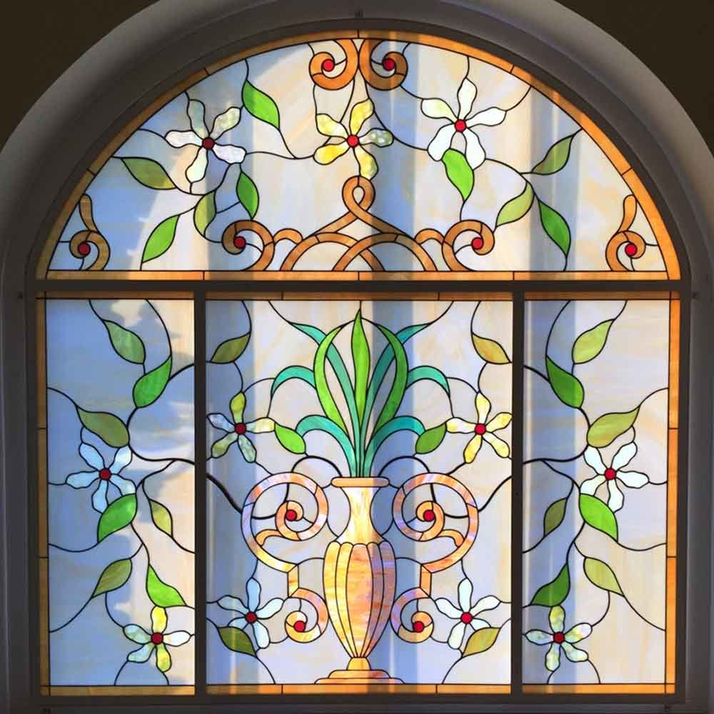 China Best Quality High End Artists Design Stained Glass