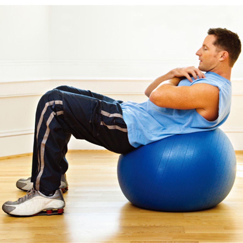China Inflatable Swiss Ball Fitness Pregnancy Birthing Anti Burst Exercise Gym Yoga Balls China Yoga Ball And Gym Ball Price