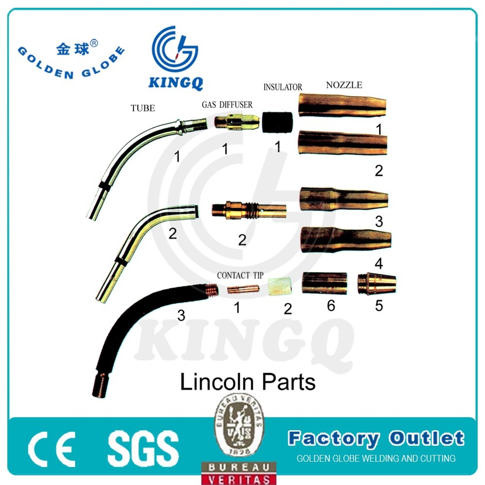 China Kingq Gas Diffuser For Lincoln Brand Welding Mig Torch Photos Diagram