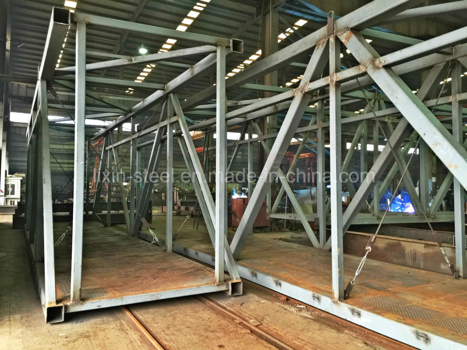 China Low Price Steel Fabrication Supplier for Metal Frame