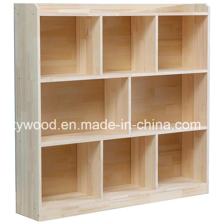 Simple Design Wooden 3 Shelf 8 Blank