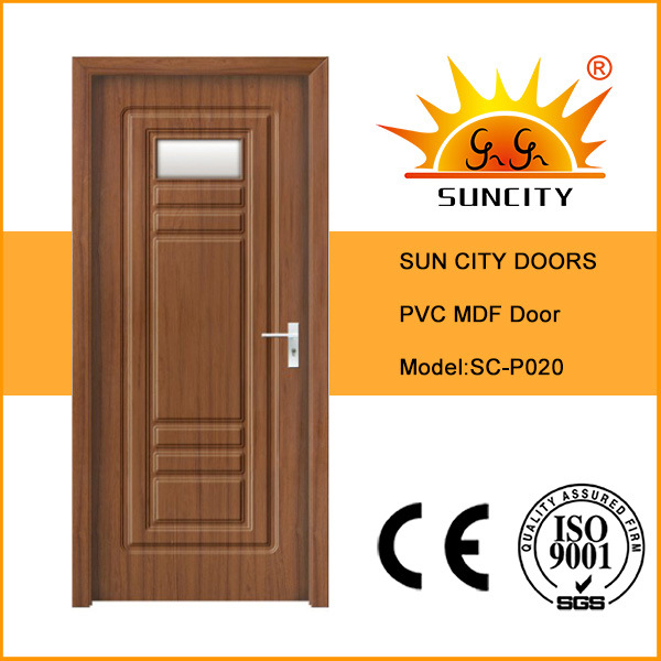 China Interior Mdf Bedroom Doors With Glass China Pvc Door Mdf Door