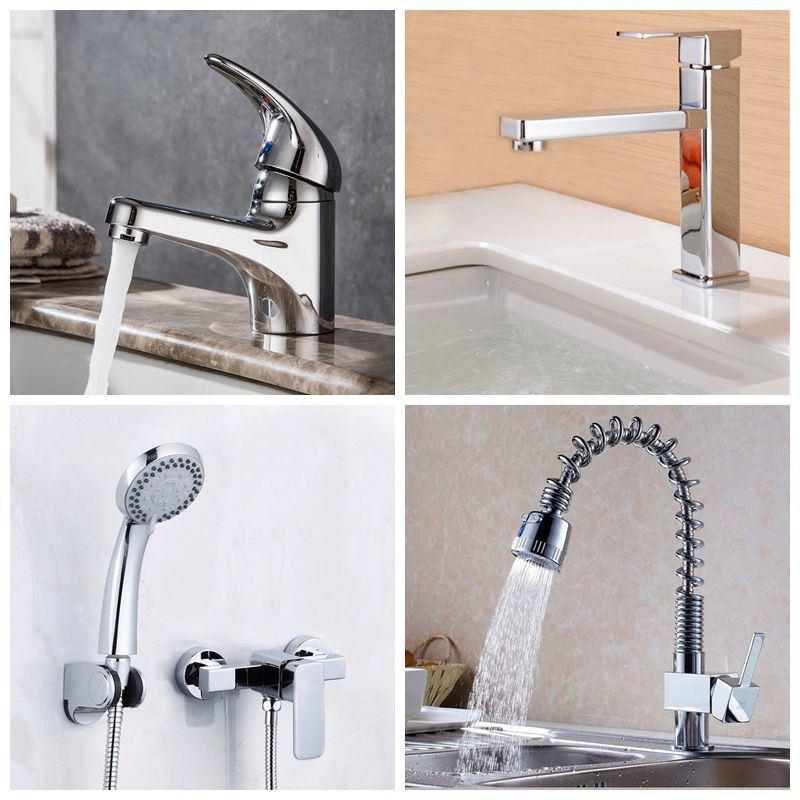 China Jooka New Design Bathroom Waterfall Brass Lavatory Basin Kitchen Sink Mixer Bathtub Water Shower Faucet China Basin Faucet Faucet