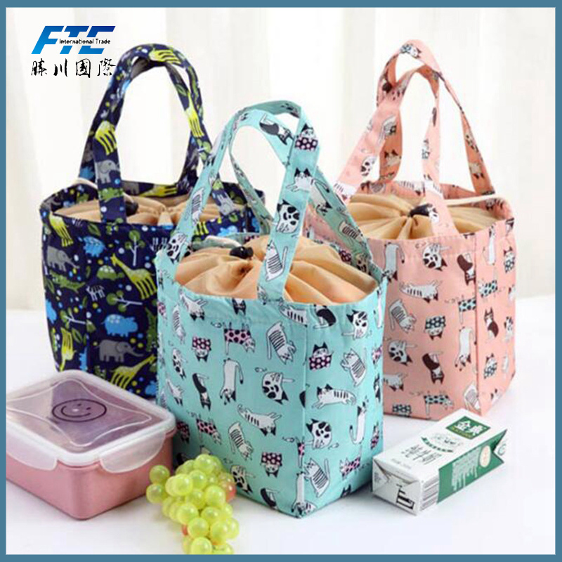 a565b24ae6c6 [Hot Item] Animal Cat Lunch Bag Portable Insulated Cooler Bags