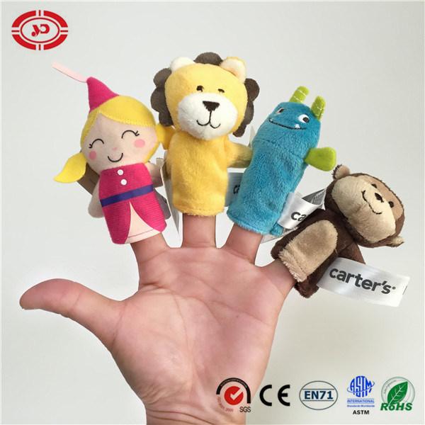 Finger Puppet Set Funny Baby Plush Soft Learning Toy pictures & photos