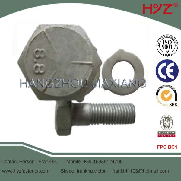 Hot DIP Galvanized Bolt As1252
