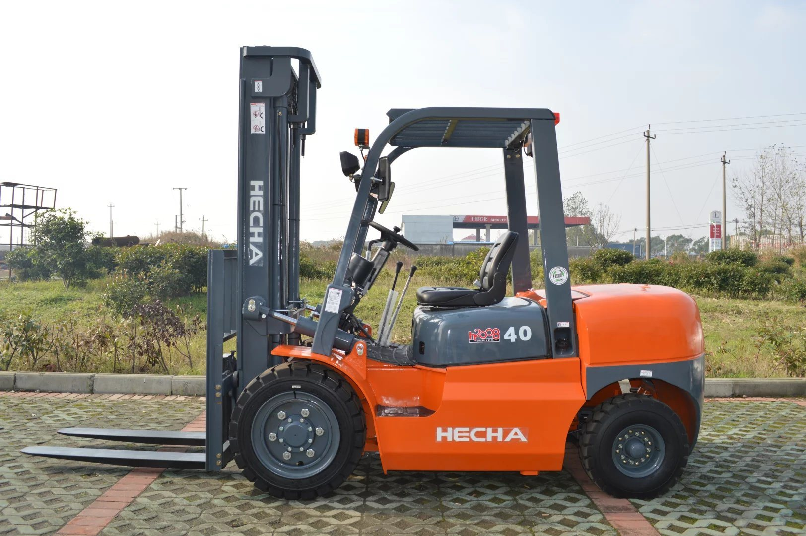 China High Quality 4 Ton Forklift Truck Cpcd40 Diesel Forklift - China  Forklift, Forklift Truck
