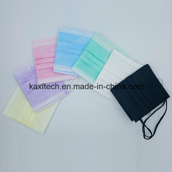 Whole-Sale Price Disposable Nonwoven 3ply Medical Face Mask