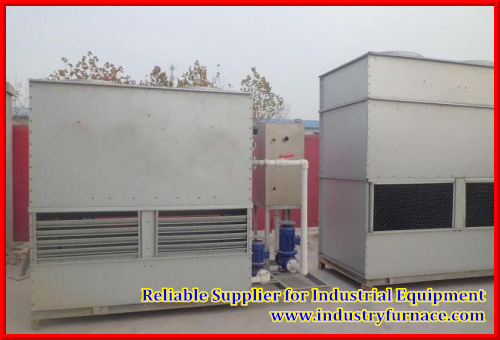 Closed-Loop Water Cooling System for Induction Heating Machine