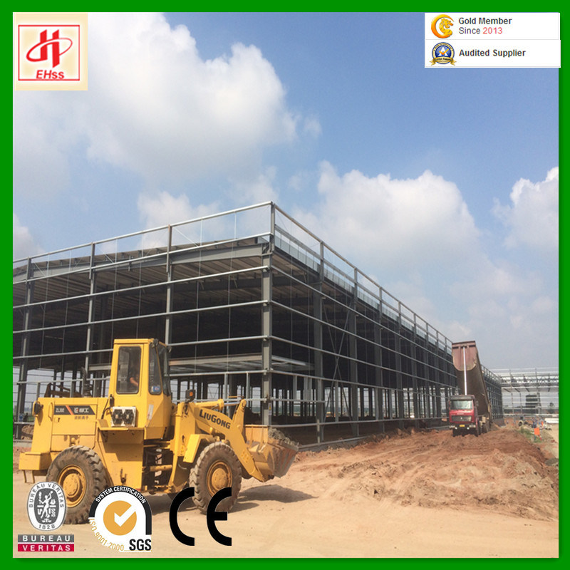 China Light Frame Construction Factory Structural Steel Frame ...