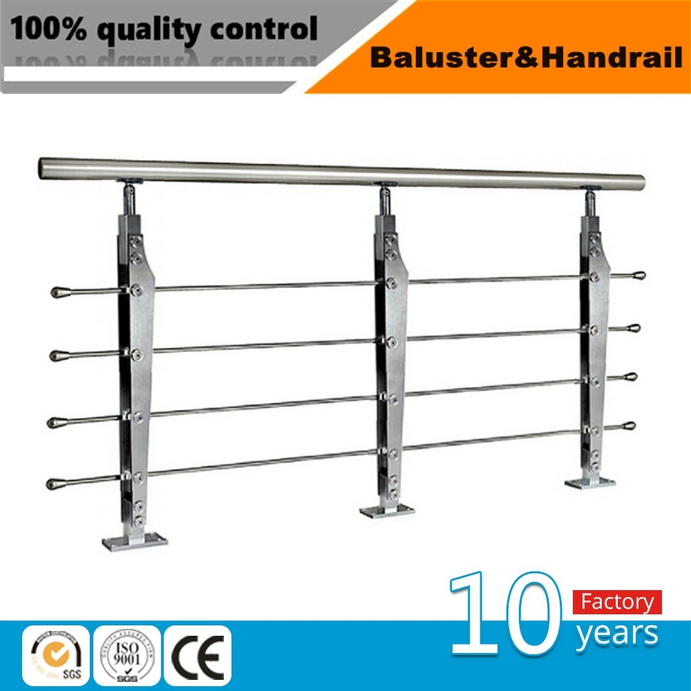 China Outdoor Stainless Steel Wire Mesh Deck Railing - China ...