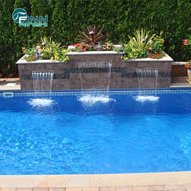 [Hot Item] Home Decoration Swimming Pool Stainless Steel Waterfall Fountain  Water Cascade