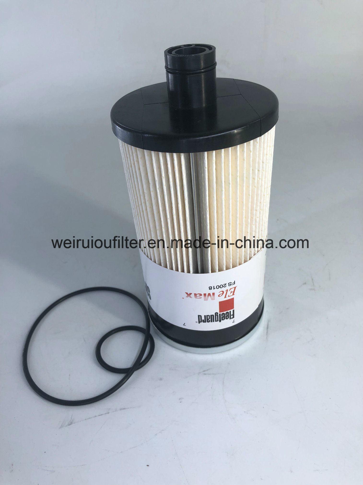 diesel engine parts fleetguard fuel filter/oil filter/filter element fs20018