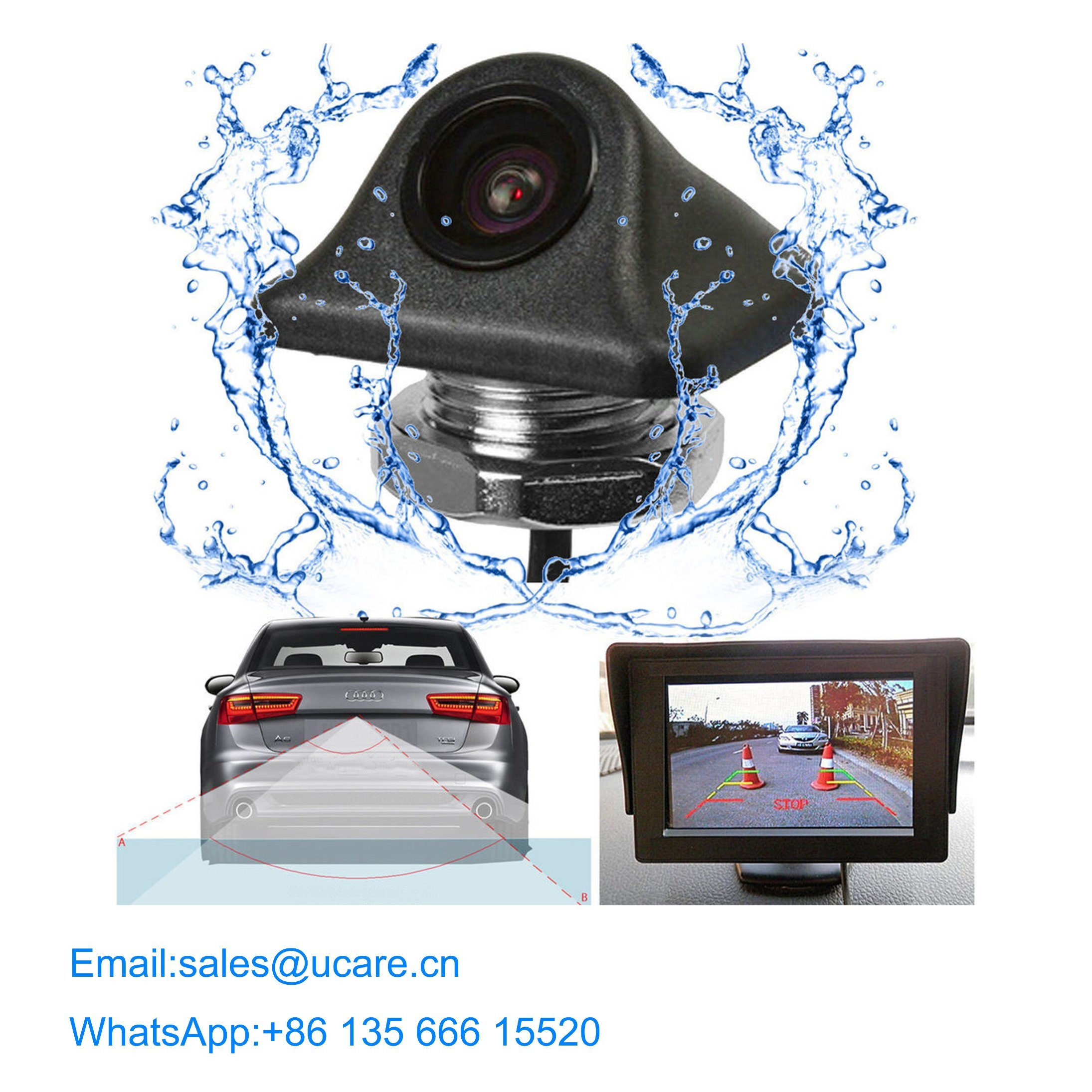 Wireless Bluetooth Rear Reversing Camera pictures & photos