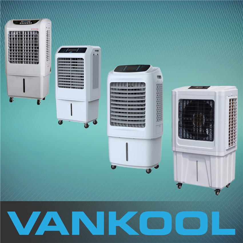 Fan That Blows Cold Air >> Hot Item Portable Mobile Dc Evaporative Air Cooler Fan Blows Cold Air