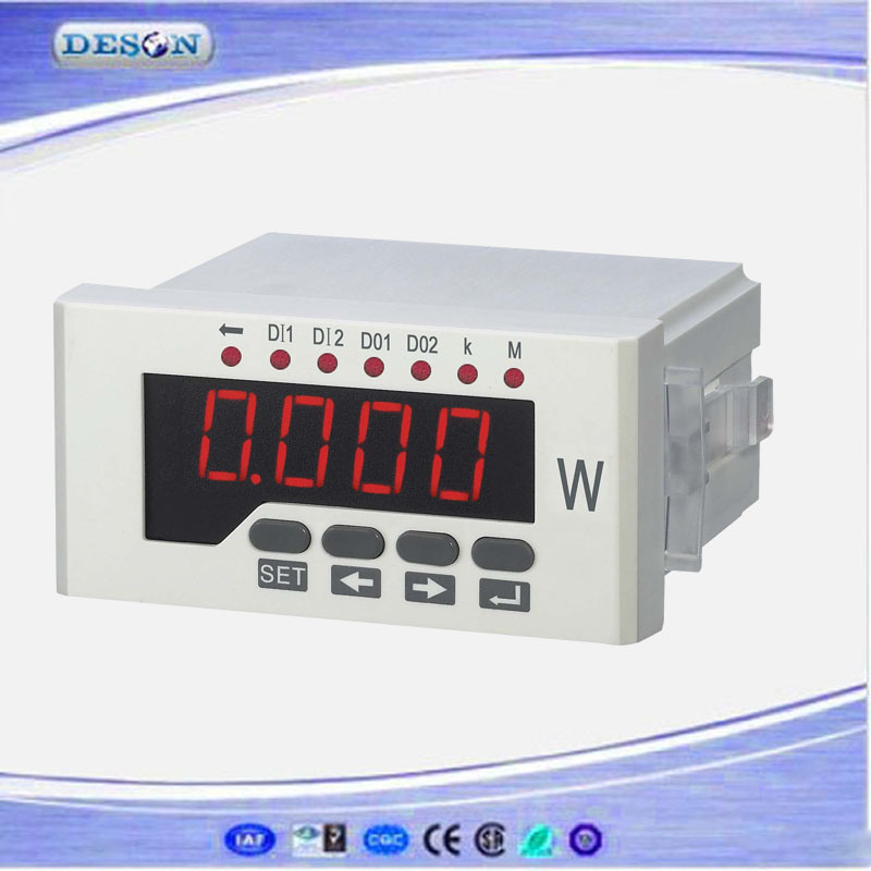 China Panel Mounted Three Phase Digital Active Power Meter