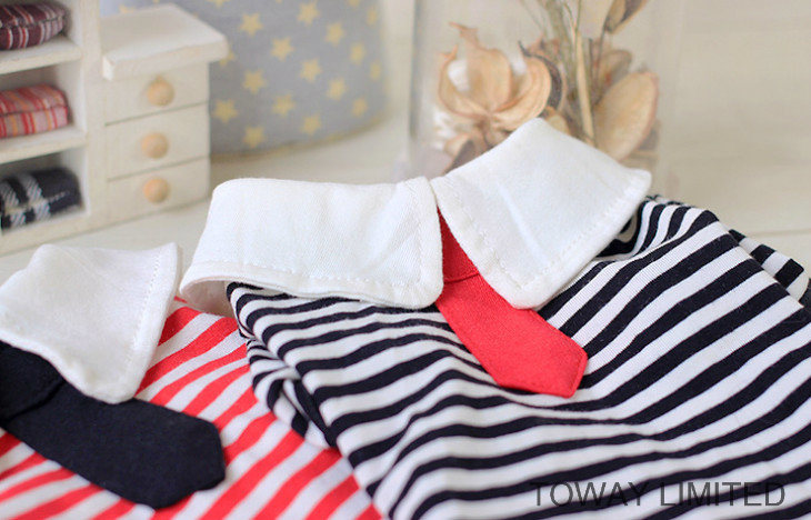 Customized Stripes Tie Sailor Design Dog Clothes Colleague Pet Shirt pictures & photos