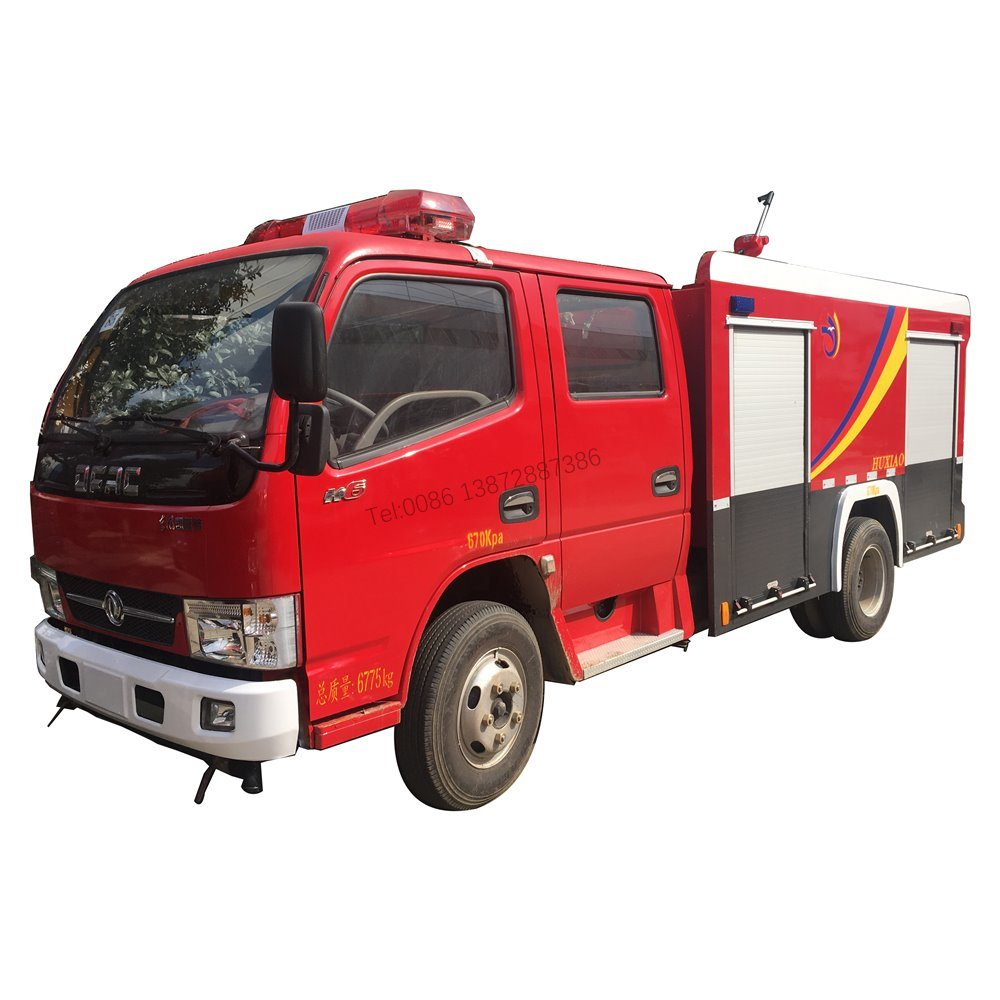 China Dongfeng 4X4 Fire Truck Manufacturers Small Fire Engine ...