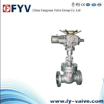 API 6D/600 Cast Steel Electric Actutor Gate Valve pictures & photos