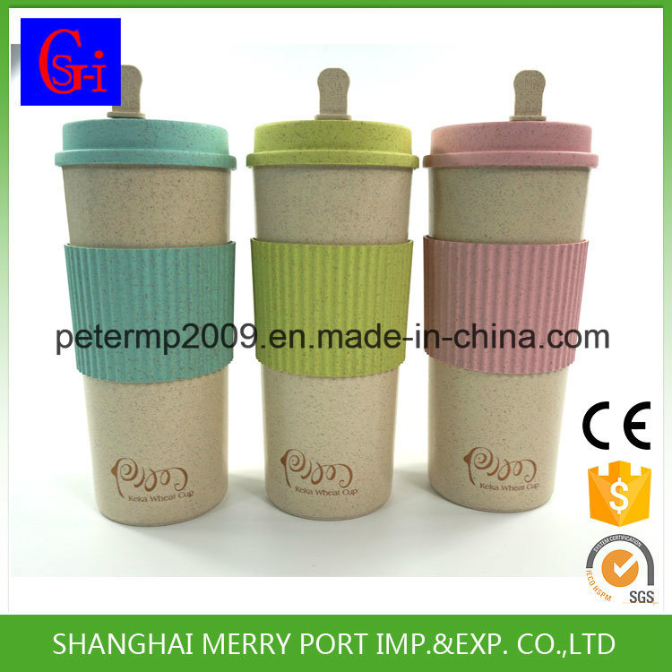 Custom Avaliable Wheat Fiber Coffee Cups (SG-WF1100-A) pictures & photos
