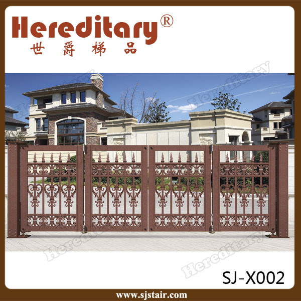 China Wholesale Indian House Folding Automatic Main Aluminum Gate