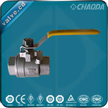 Ql11f Female Threaded Two Pieces Ball Valve