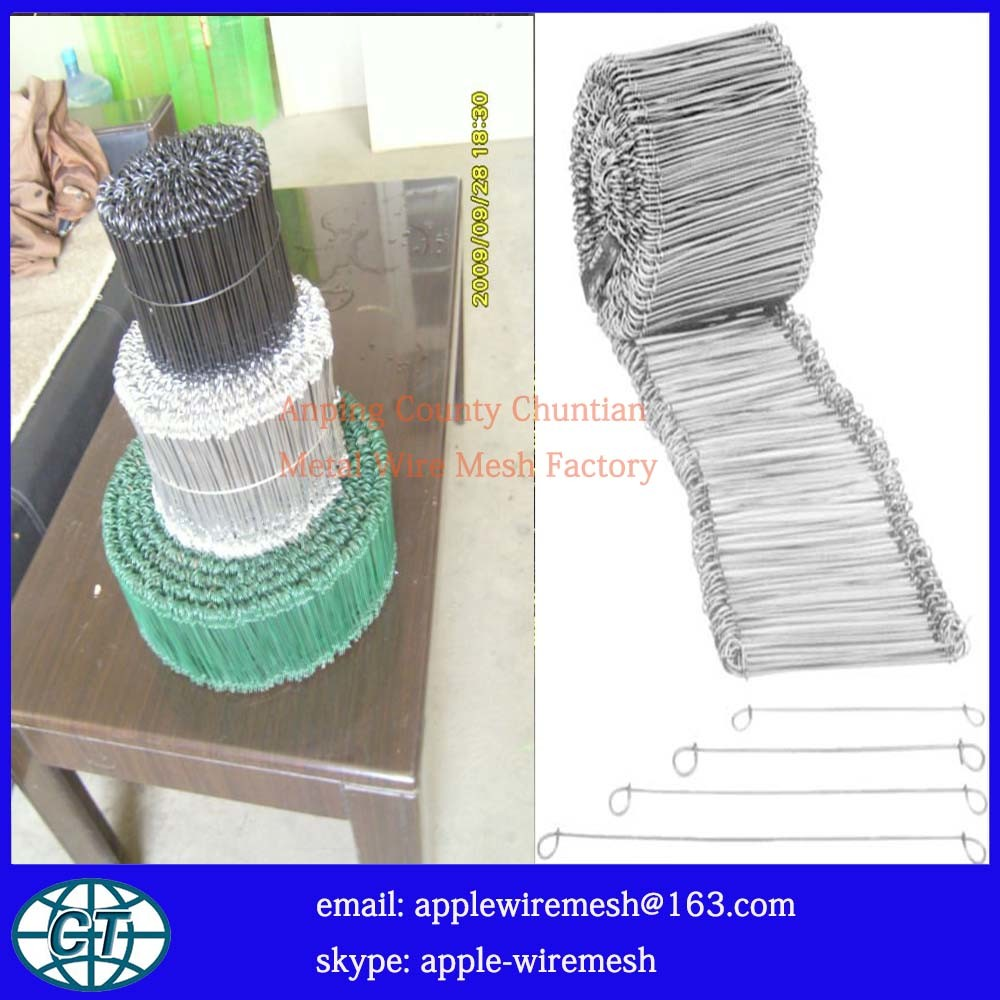 China Double Loop Tie Wire for Rebar Ties Photos & Pictures - Made ...