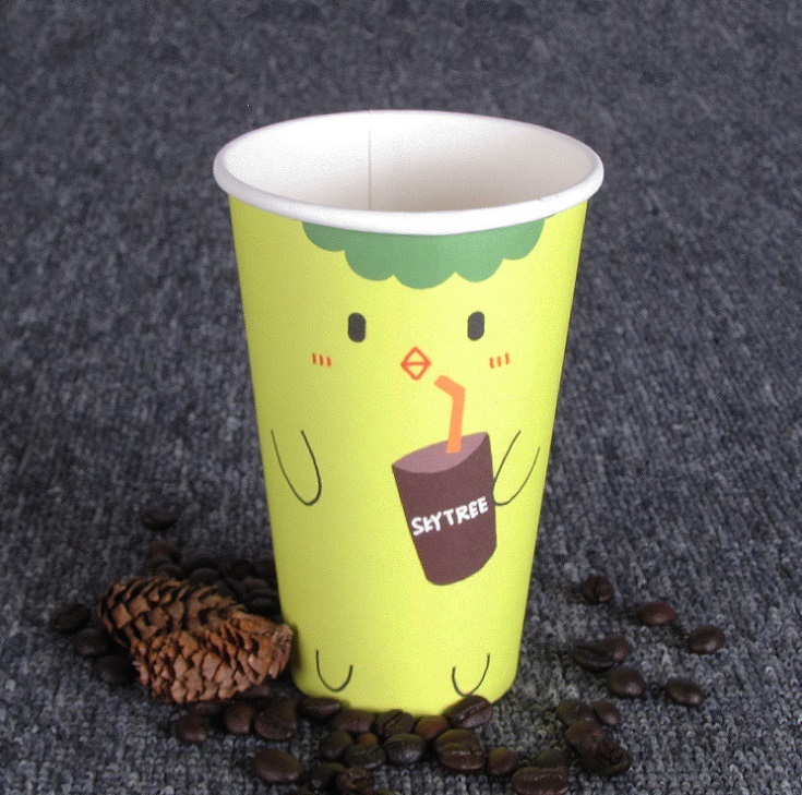 China Supplier Low Price Cold Drinking Paper Cup pictures & photos