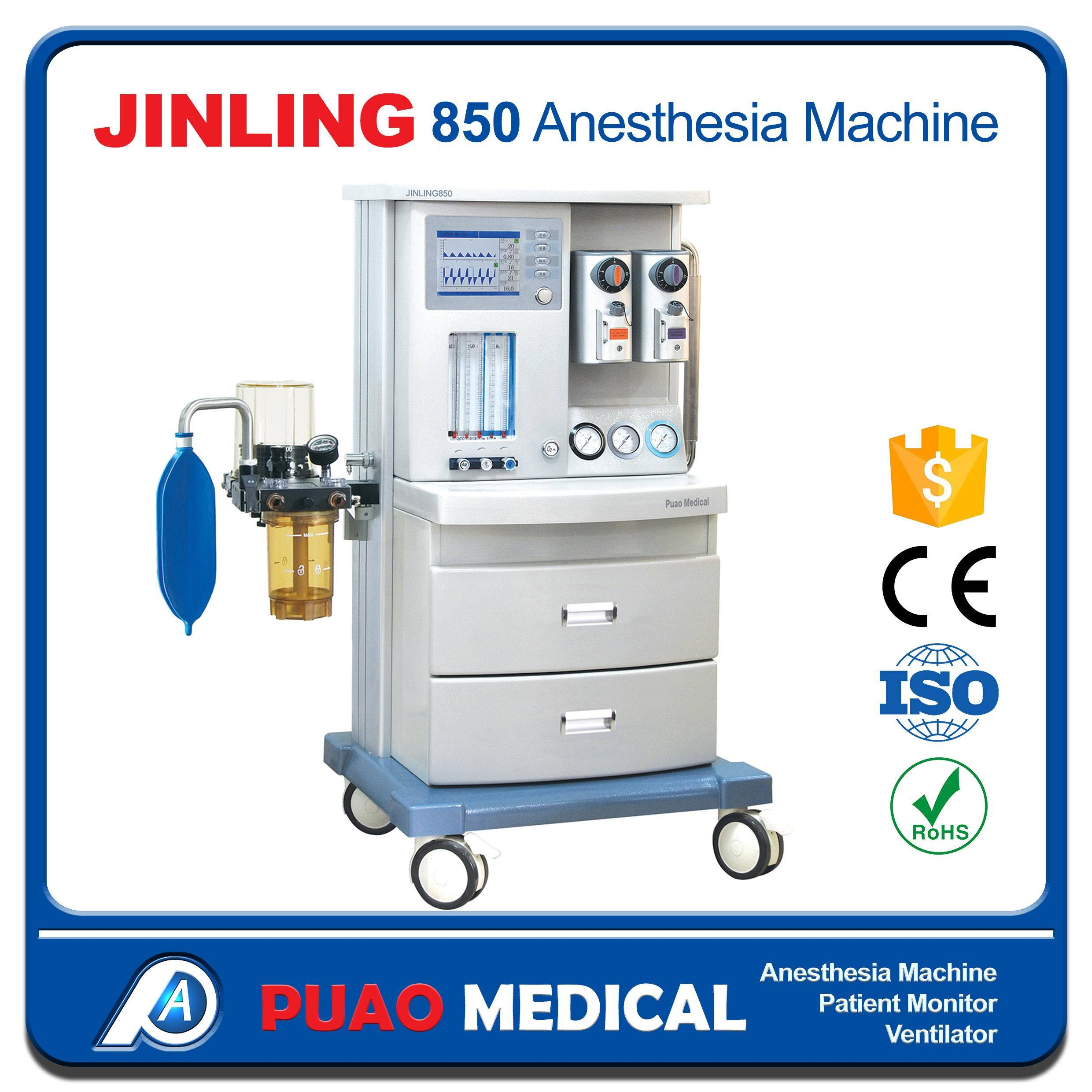 Jinling 850 Standard Model Anesthesia Machine