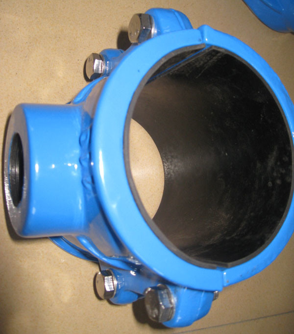 [Hot Item] Saddle Clamp for PVC Pipe (DN50-DN300)