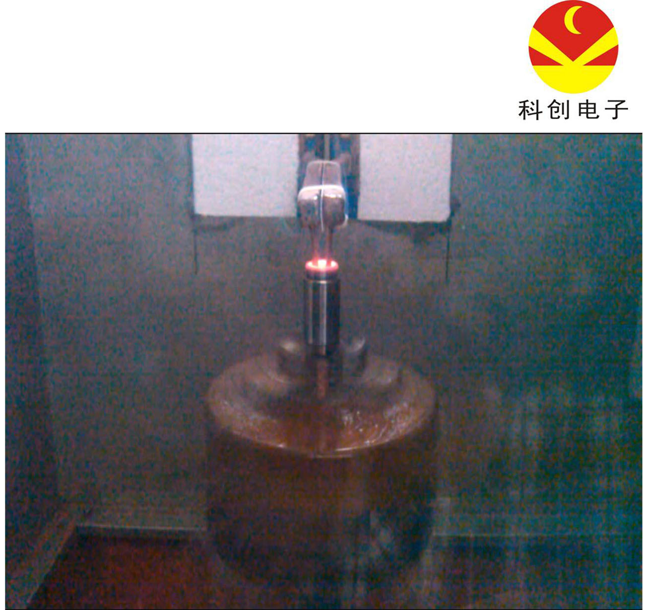 China Igbt Induction Furnace For Axle Sleeve Inner Hole Hardening Circuit Heating Iii With Line Machine Quenching