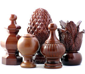 China Wood Finials Furniture Lf 8201706